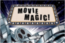 Logo for movie magic sabre team building challenge
