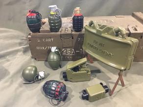 Replica Grenades and Ordnance
