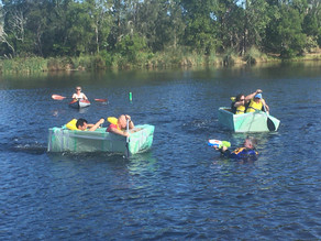 Enjoyable chaos on the waterways of the Sunshine Coast for Cup Day 2020