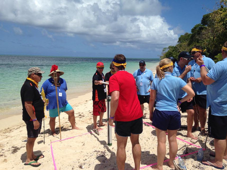 Team Building on the Barrier Reef / Green Island with Allianz