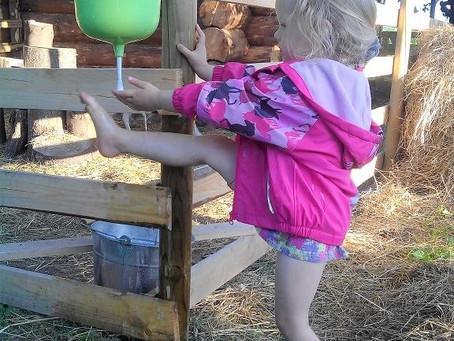 Üks lihtne aga vahva uus asi on meil selline retro kätepesu võimalus. (30.07.2017)