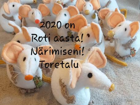 Käima läinud Roti 🐁 aastaks soovime... (02.02.2020)