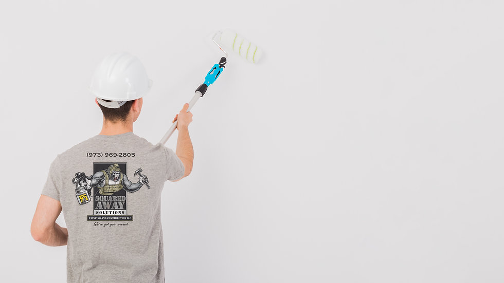 Squared Away Solutions Worker Painting W