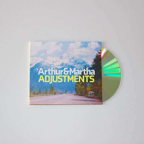 Arthur and Martha: Adjustments LIMITED NUMBERED CD (Bot13)