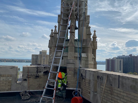 Update on Belfry Tower Repairs