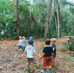 Children in our Forest program