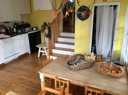 The Kinderhaus Kitchen & Tables