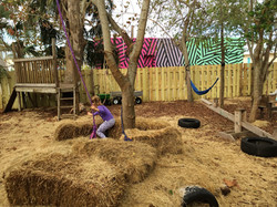 The Playgarden outdoor play area