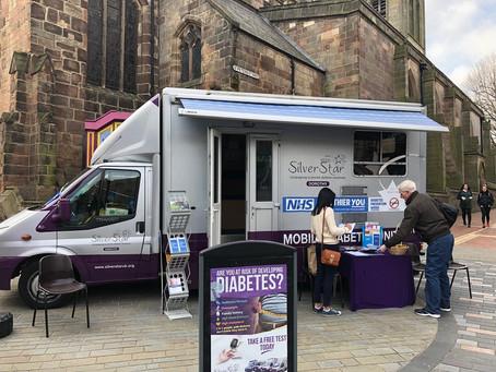 FREE diabetes checks at the Morpeth Town Fair