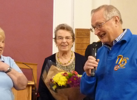Recognised for decades of community service