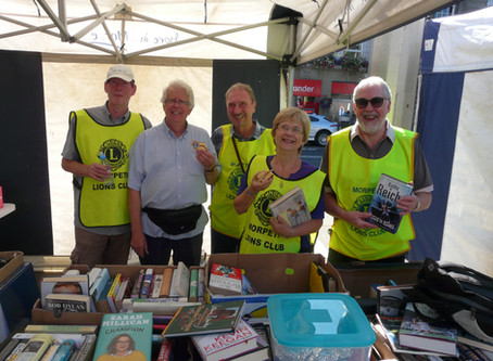 £4k raised at the Great Morpeth Book Sale