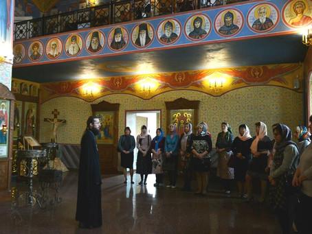 В храме состоялось совещание старших воспитателей детских садов Ленинского района