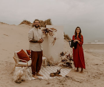 Elopement, Intime Trauung am Strand