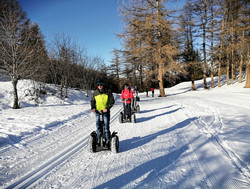 Karellis Segway sport d'hiver