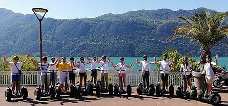 evg et evjf à Aix les Bains au bort du Lac du Bourget