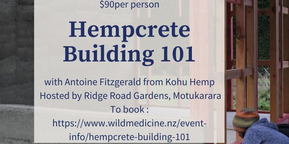 Hempcrete building 101