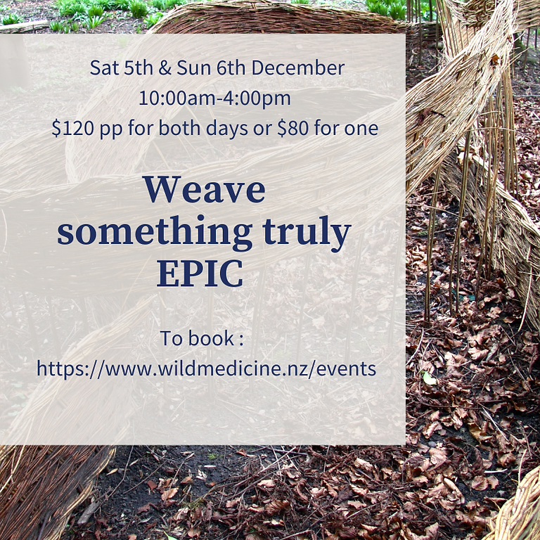 Weave something truly Epic! Day 2