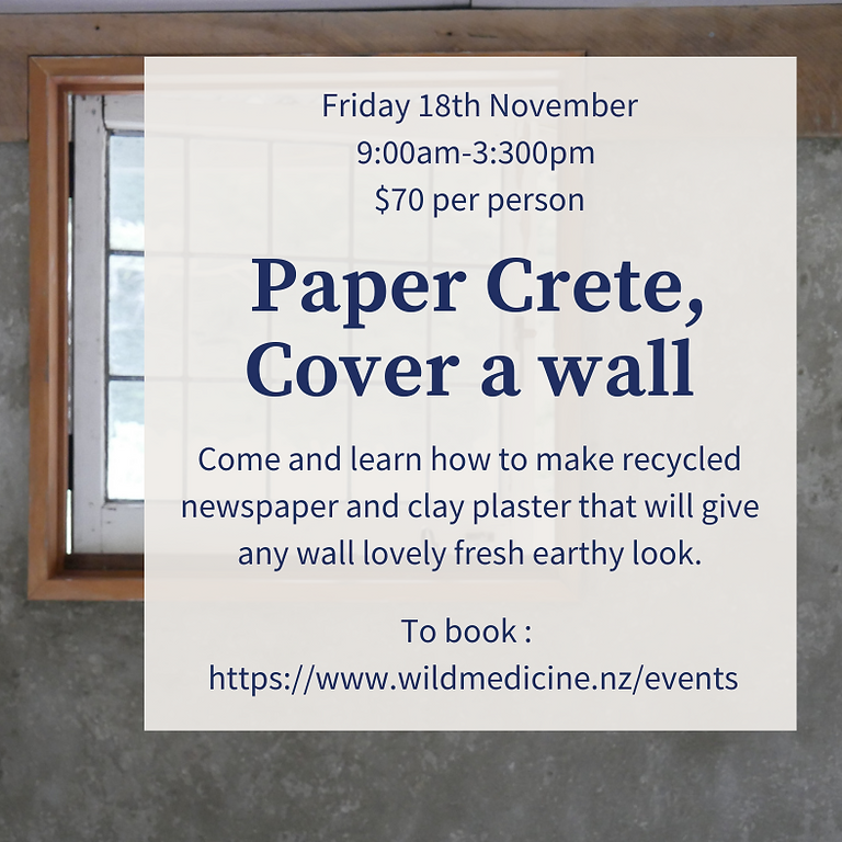Paper Crete a Wall!