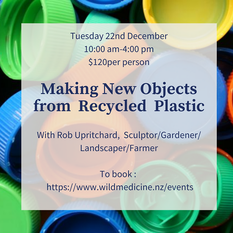 New Objects from Recycled Plastic