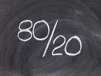 What you NEED to know about the 80/20 rule
