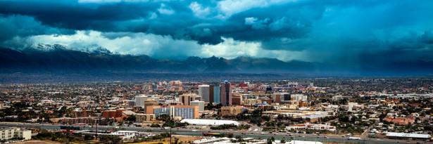 Wintery Downtown Tucson