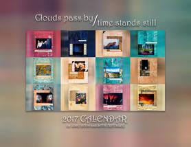 Clouds Pass By/Time Stands Still 2017 Calendar