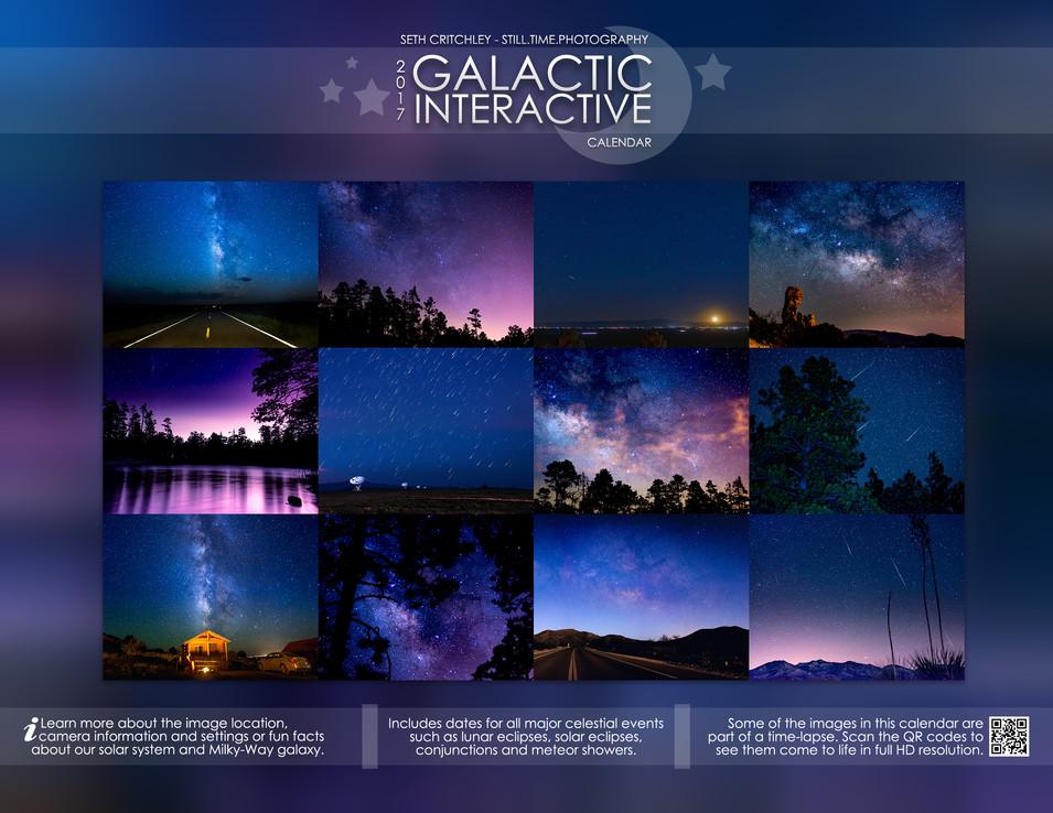 Galactic Interactive 2017 Calendar