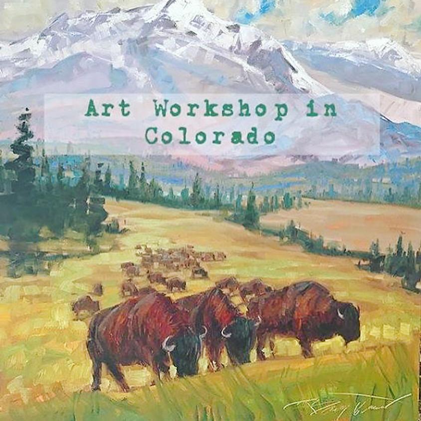 Painting Workshop in Colorado