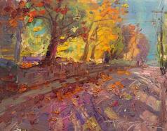 Morning Shadows in October