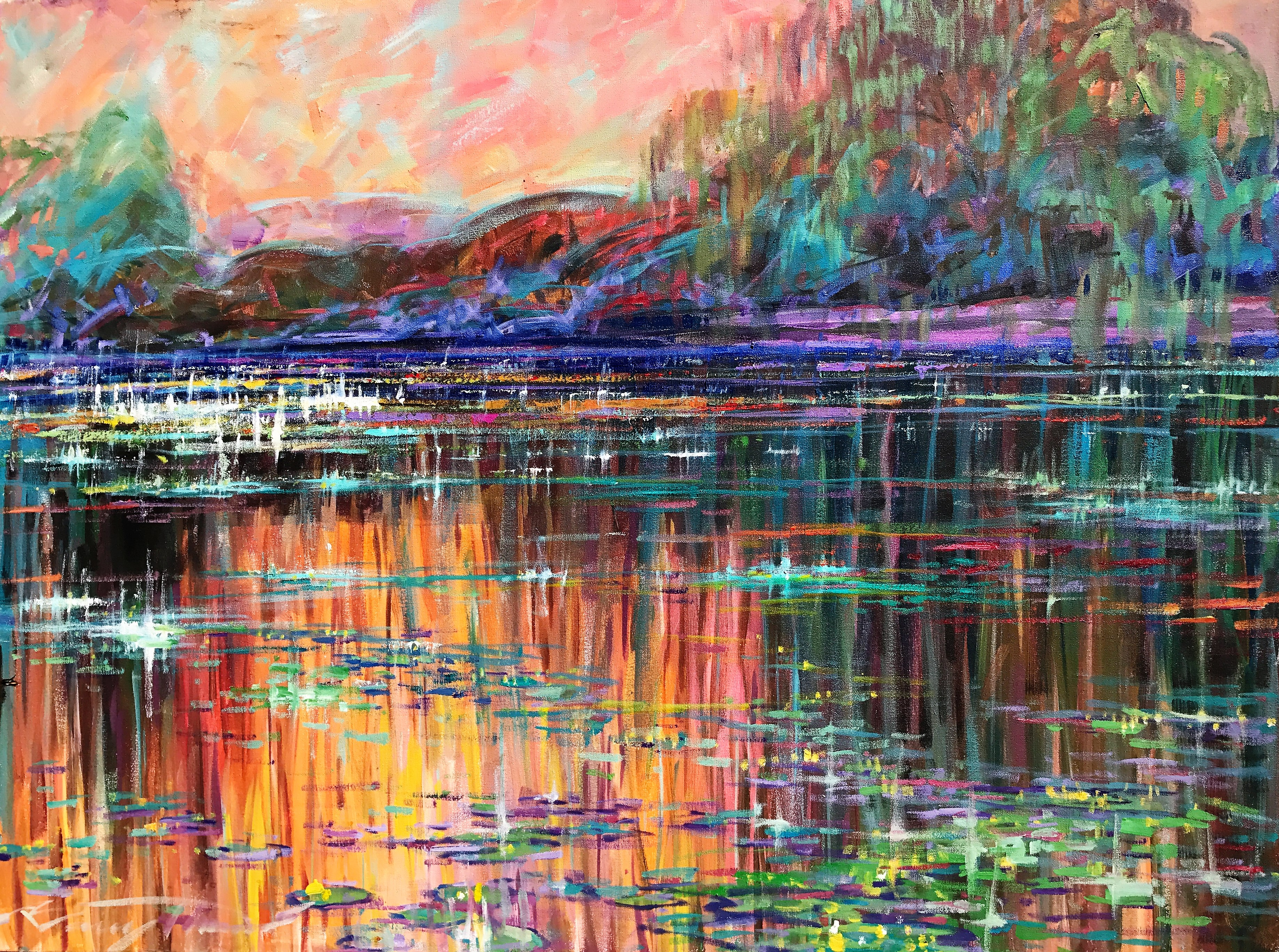 Monets Water Lillies