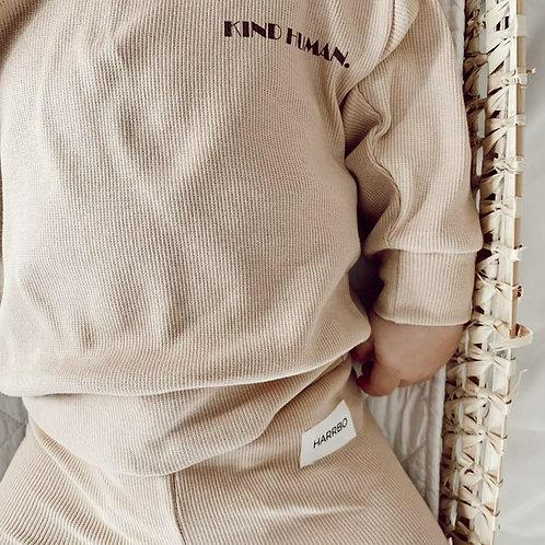 Kind Human    Oatmeal Sweatshirt
