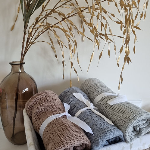 The Kind Co Cotton Blanket