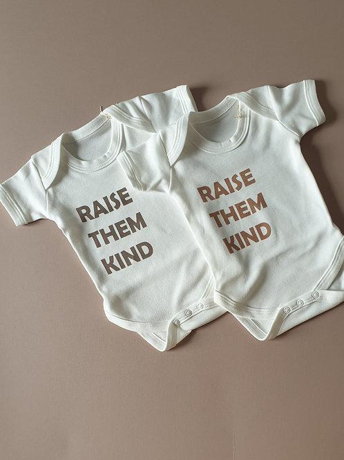 Raise them kind | Bodysuit
