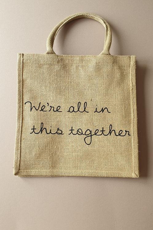 'Together' Jute Bag