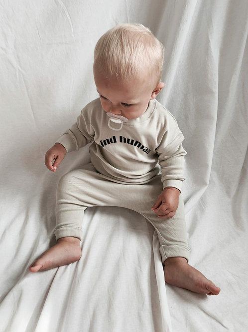 'KIND HUMAN' |  Organic Rib Sweater