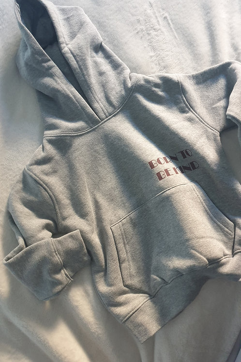 BORN TO BE KIND | toddler hoodie