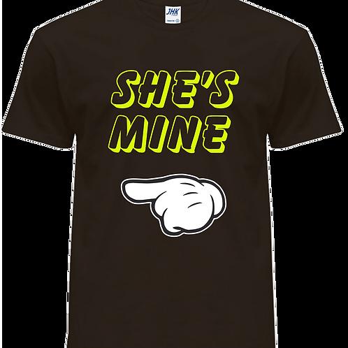 SHE'S-HE'S MINE