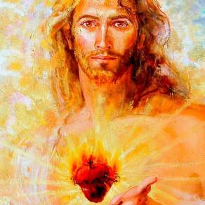 Feliz dia do Sagrado Coração.