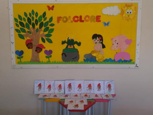 Vivenciando a semana do Folclore, infantil 1 - professora Bruna