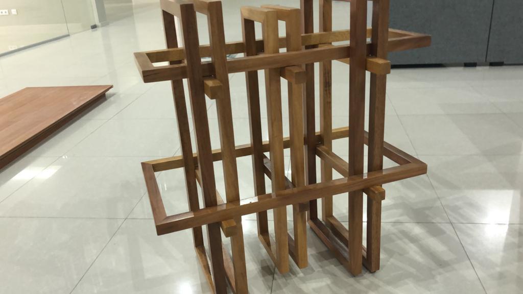 Pormenor de mobiliário customizado