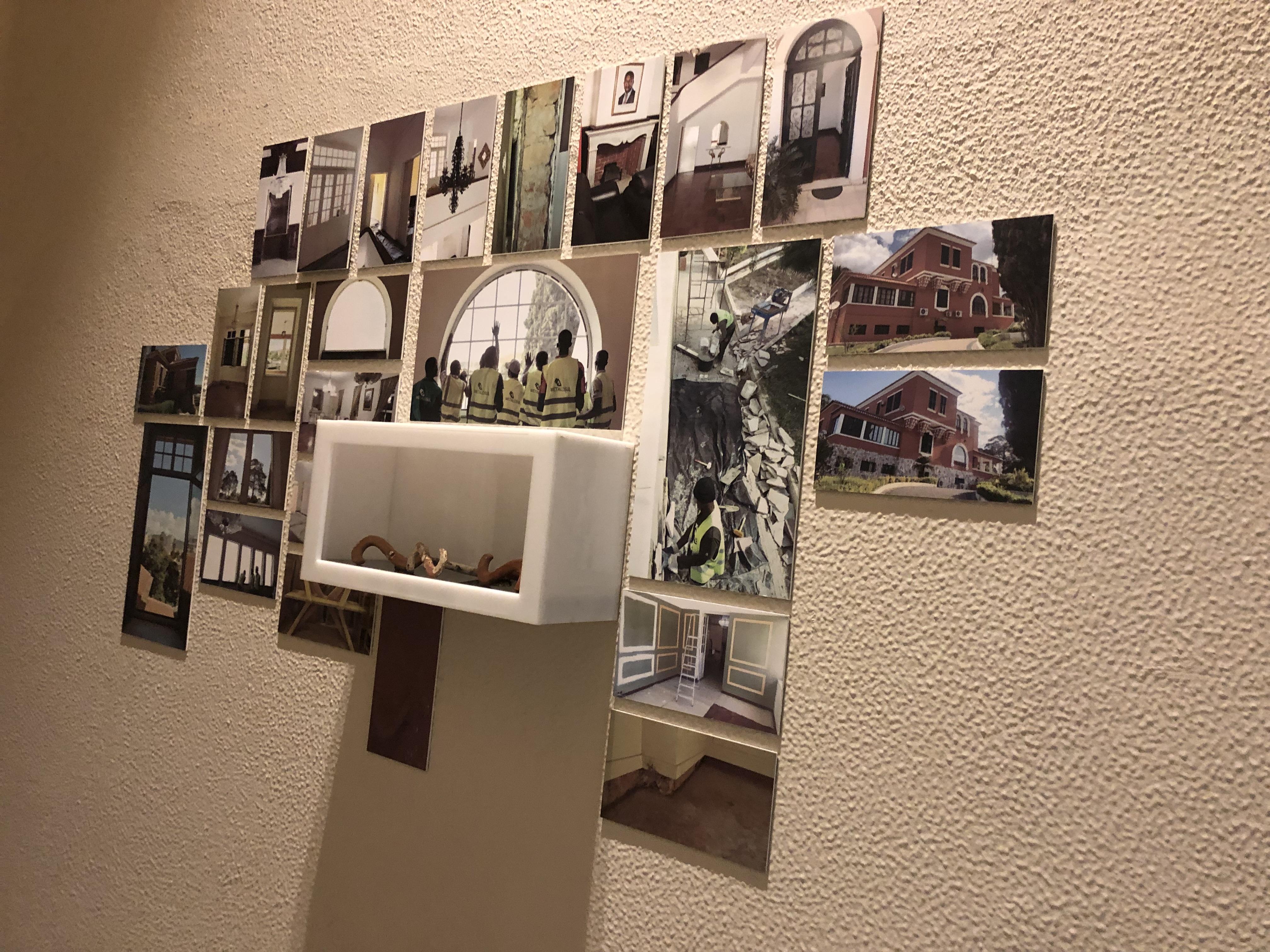 Exposição de fotografias da obra