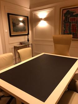 Sala de reuniões privativa