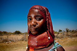 Mulher tradicional angolana