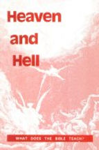 Heaven and Hell. Leaflet