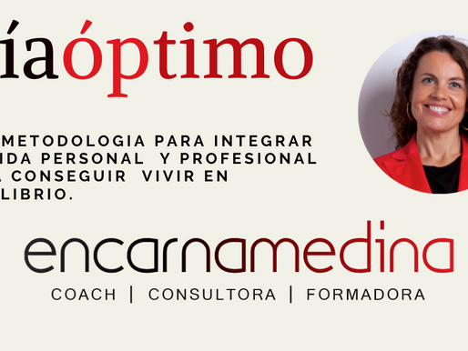Anne Igartiburu y yo te presentamos mi metodología del #diaoptimo