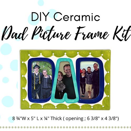 DIY Ceramic DAD Picture Frame Kit