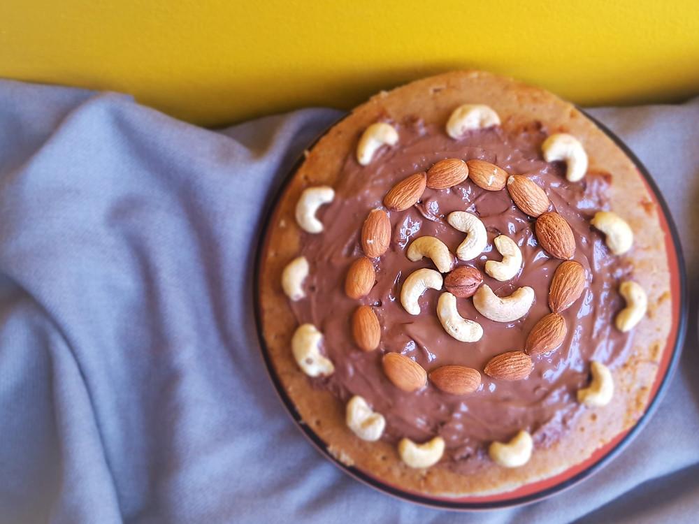Sveikas bananinis pyragas be cukraus, miltų ir sviesto | www.salduolis.lt
