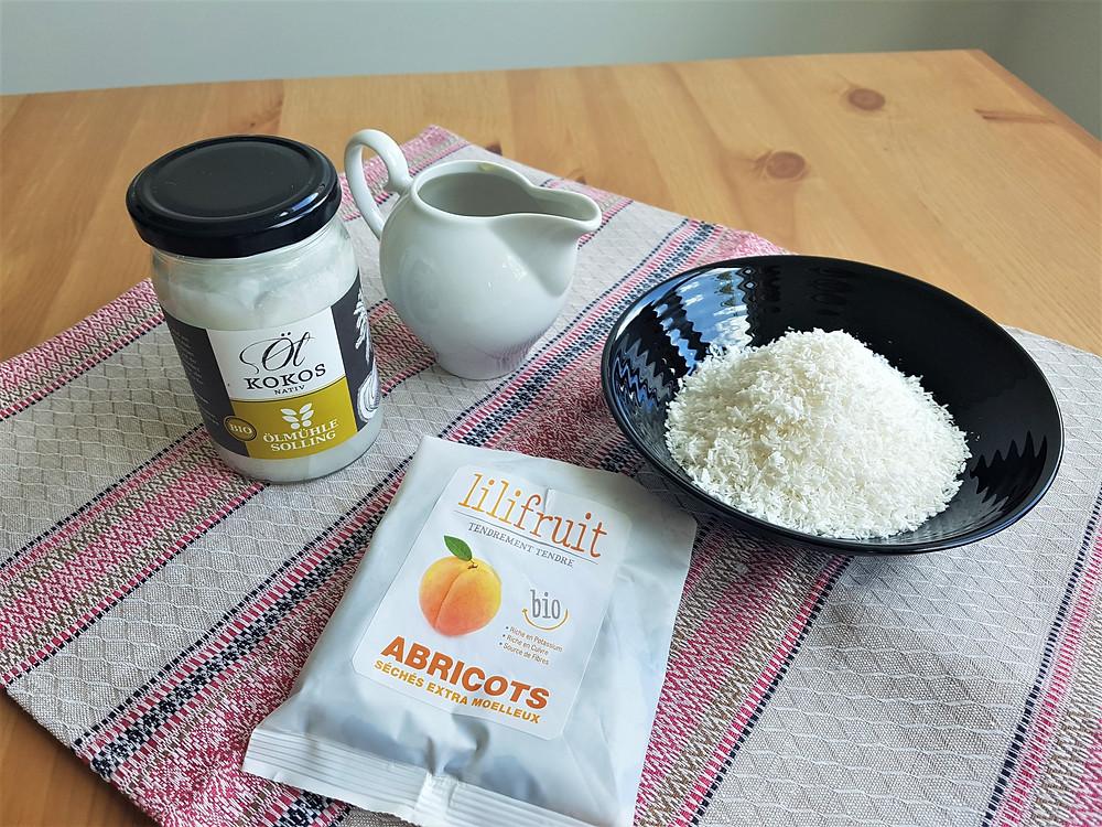 Abrikosiniai rutuliukai be pridėtinio cukraus | Salduolis.lt