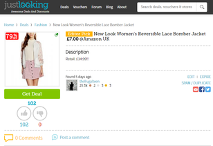 Make money bargain hunting with JustLooking