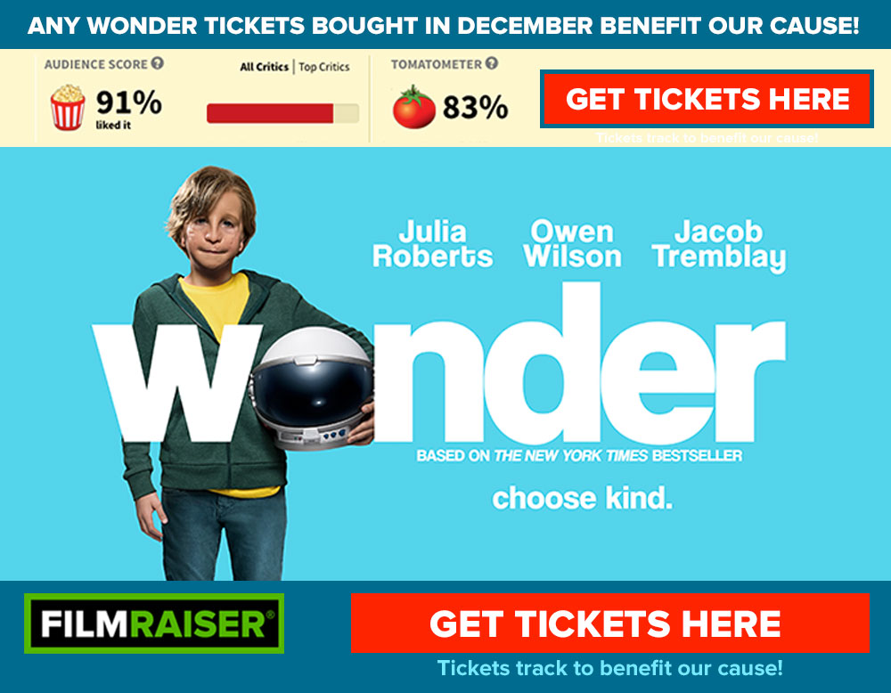 Click to get Wonder tickets on Fandango—sales track to St. Cloud Elementary School Soccer!